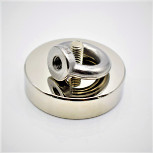 Strong Neodymium Magnet Fishing Magnet For Deep Sea Fishing Holder With Ring Eye
