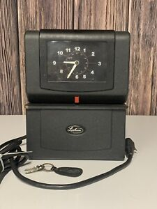 Lathem 4001 Punch Electric Business Time Clock With 2 Keys