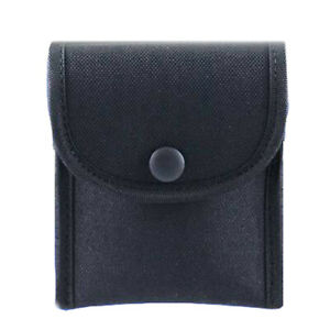 Uncle Mike s 88871 Black Cordura Single Snap Latex Glove Pouch Belts To 2 25