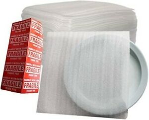 50 Pack 12 X 12 Foam Pouches Shipping Packing Moving Wrapping Dishes Plates