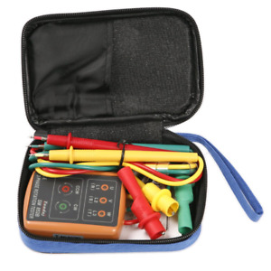 Atoplee 3 Phase Sequence Presence Rotation Tester Indicator Orange colour