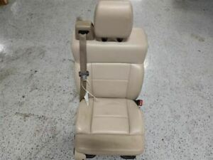 2004 2008 Ford F150 Pickup Front Right Passanger Side Seat Leather 9032