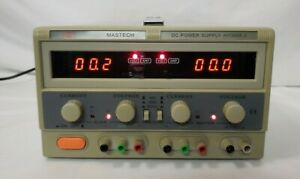 Mastech Hy3005 a Dc Adjustable Triple Power Supply 30 Volts 5 Amps Working