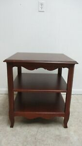 Ethan Allen Legacy Maison Country French Three Tier End Table Stand