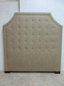 Precedent Large Tall Tuft Chesterfield Style Queen Headboard Bed