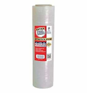 Stretch Film Plastic Wrap Roll Clear 17 Inch X 1100urniture Moving Supplie