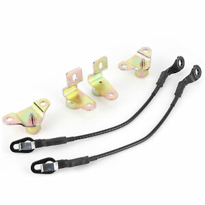 Tailgate Cable Kit Tailgate Hinge Fit For Chevy Silverado 1500 2500 3500 Usa Fits More Than One Vehicle