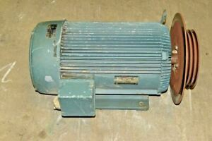 Us Electrical Motors 30hp 1765 Rpm 286t 91 0 Hieff 3phase 550v Electric Motor