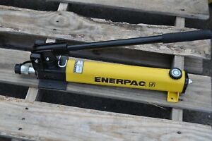 Enerpac P391hydraulic Hand Pump 1 Speed 10 000 Psi Mint With Coupler Cr400