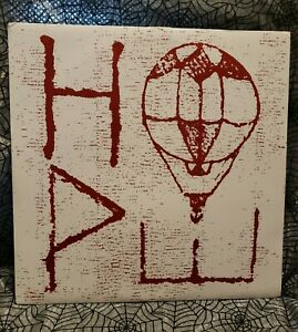 Hawthorne Heights Hope Limited To 300 Green Colored Vinyl 2012 Record Oop