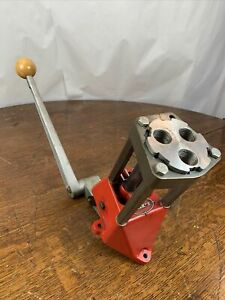 Lee 3 Hole Turret Press Single Stage Reloading Press Very Nice $109.99