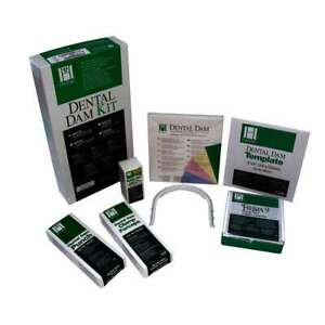 Coltene Hygenic Rubber Dam Kit Premium Quality With Free 2 Pack Sheet