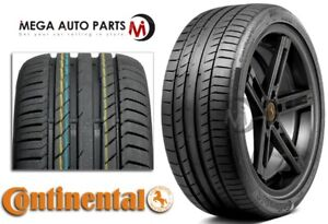 1 Continental Contisportcontact 5 Ssr 225 40r18 88y Max Performance Summer Tires