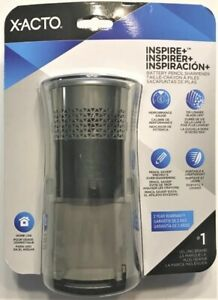 X acto Inspire Plus Battery Operated Pencil Sharpener Electric Brand New Xacto