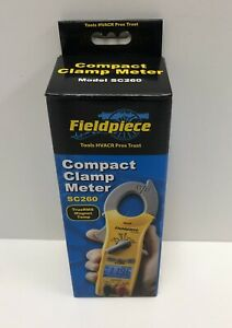 Fieldpiece Compact Clamp Meter True Rms Magnet Temp sc260 new