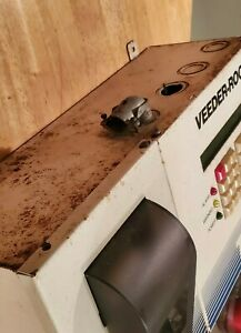 used veeder root Gilbarco Tls 350r With 4 input Probe Module Printer