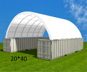 Shipping Container Canopy Shelter 20 x40