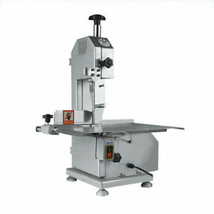 Used 650w Electric Butcher Frozen Meat Bone Cutting Band Saw Machine Commercial