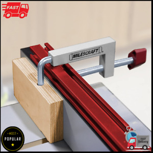 Fence Clamps Miter Saw Router Tables C clamps Universal Clamping Tool 2pck New