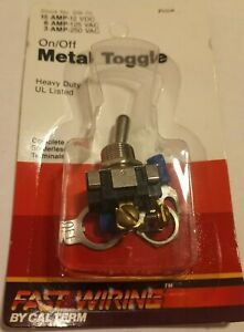 New Calterm 41700 Metal On Off Toggle Switch 1899426