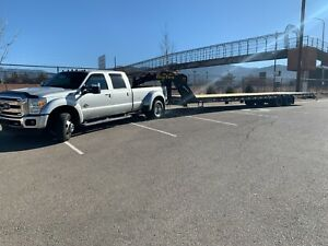 Big Tex 25gn 40 Straight Gooseneck Trailer W Ramps Purchased 3 2021