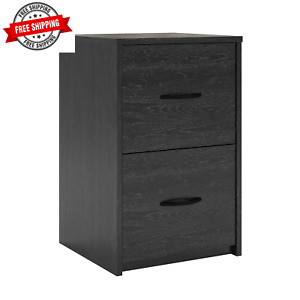 Durable 2 Drawer File Cabinet Decorative Handles Home Office Storage Indoor