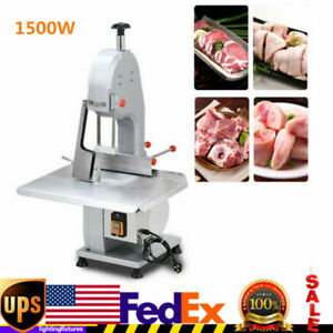 1500w Commercial Electric Bone Sawing Machine Frozen Fish Beef Meat Cutter Usa