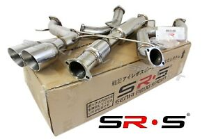 Srs Type R1 Catback Exhaust System For 2013 2018 Ford Focus St 2 0l Turbo 3