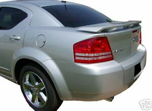 2008 2014 Dodge Avenger Rear Spoiler Wing Factory Style New Primed Unpainted