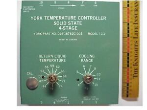 York Tc 2 02516782c003 4 stage 24v Chiller Controllers
