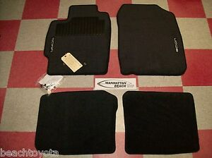 2005 2010 Tc Carpet Floor Mats Black Pt206 21100 02 Genuine Scion Accessory