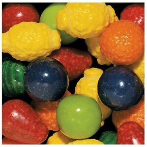 850 Seedling Fruit Dubble Bubble Gumball Candy Filled Gum Ball Vending Double