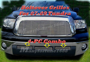 2008 07 08 09 2009 Toyota Tundra Billet Grille Combo