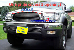 01 02 03 04 2002 2003 Toyota Tacoma New Billet Grille