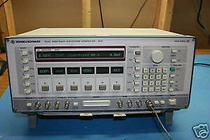Rohde Schwarz Ads Dual Arbitrary Waveform Generator Calibrated 30 Day Warranty