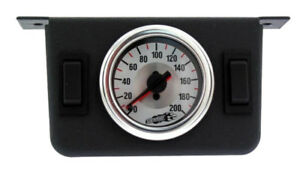 Air Lift 26157 Dual Needle Gauge Panel W 2 On Off On Switches Air Ride Valves