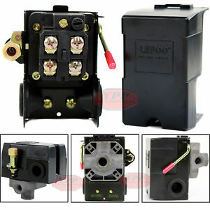 Air Compressor Pressure Switch Control Valve 145 175 Psi Electric On Off