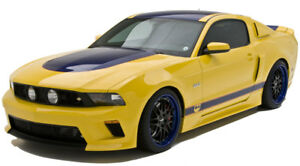 10 12 Mustang V6 Gt Street Scene 4pc Urethane Body Kit Ground Effects 950 70795