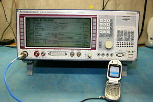 Rohde Schwarz Cmd55 Radio Communications Tester calibrated 30 Day Warranty