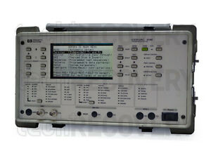 Hp Agilent E4487a Cerjac 31xe Transmission Test Set