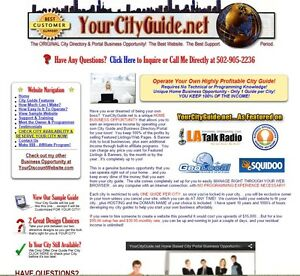 Local Business Directory Portal Website For Sale