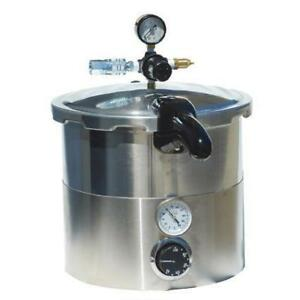 Pressure Pot 8 Quart W thermometer Air Valve Control