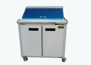 Cooltech Refrigerated 2 door Sandwich Prep Table 36