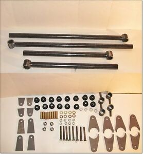 4 Link Kit Fully Adjustable Heavy Duty Air Suspension