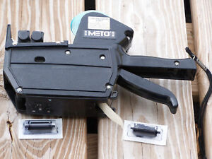 Meto Pricing Gun Labeler 20 25 Two Line