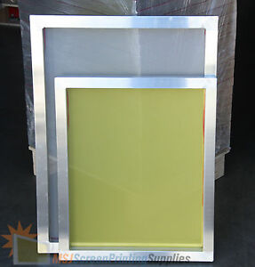 6 pack 23 x31 Aluminum Frame Printing Screen 110 160 230 2 Each Mixed Mesh