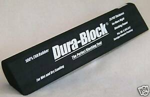 Dura Block Af4406 Tear Drop Scruff Sanding Block
