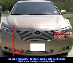 Fits 2007 2009 Toyota Camry Le Billet Grille Combo