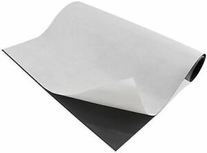 Magnetic Sheets 15 Mil X 24 X 50 Adhesive Backing