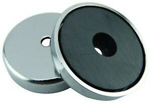 Round Base Magnet 95 Lbs Pull Super Strong 10 Pieces